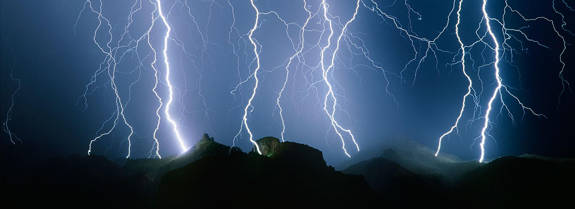 χαλαζόπτωση & καταιγίδα